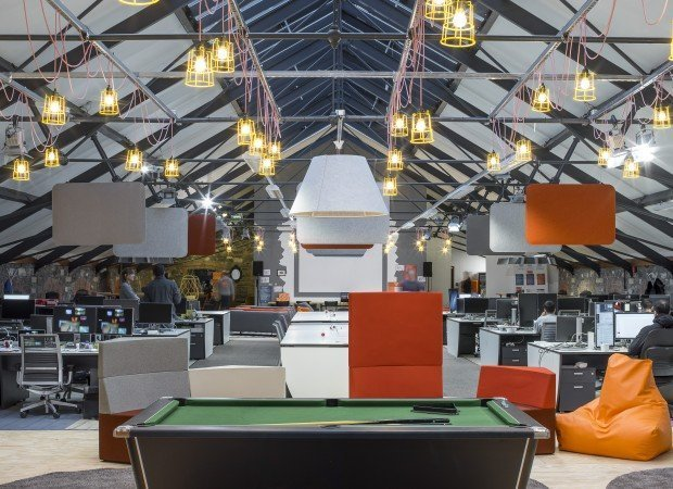 Zalando office Dublin Fit-out