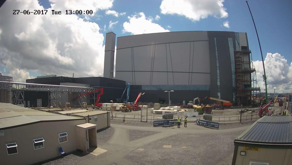 construction progress of alexion pharmaceutical through Evercam construction time lapse cameras