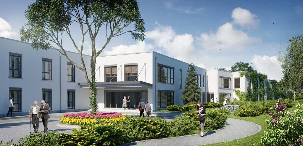 CGI image of Bartra Loughshinney Nursing Home
