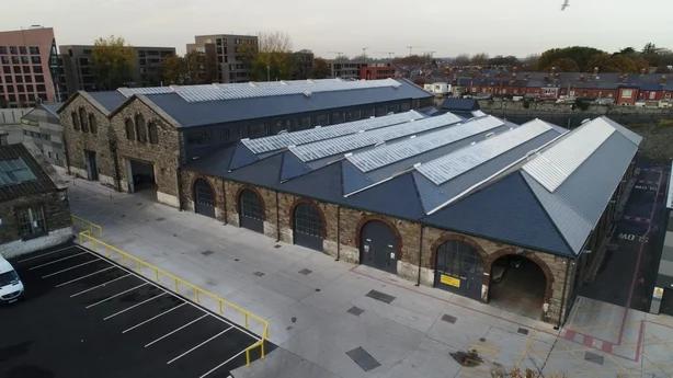 Dublin Bus Broadstone Garage Project