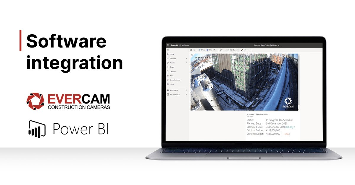 Evercam & Power BI Integration